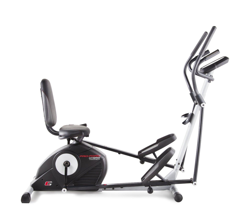 Maquina hibrida eliptica bicicleta reclinada proform labnash - Beneficios de la bici eliptica ...
