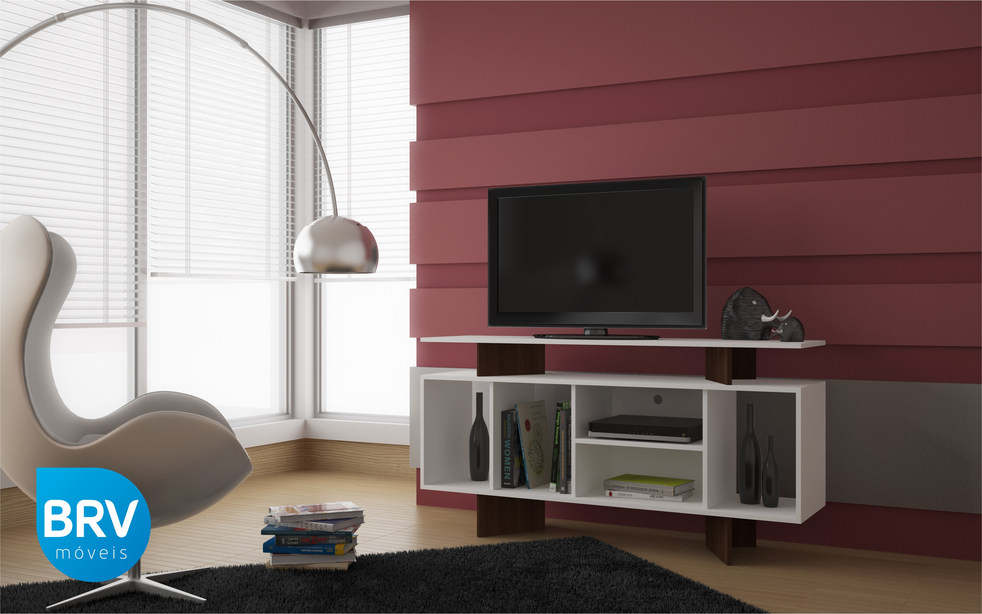 Mueble para tv pantalla equipo de sonido br 23 labnash - Muebles para equipo de sonido ...