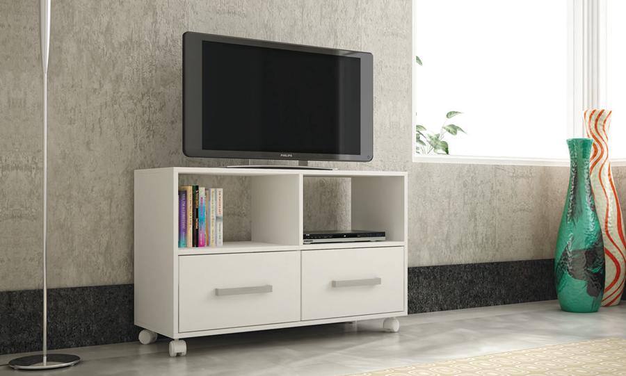 Mesa para pantalla o equipo de sonido br 270 labnash for Muebles modernos living para tv