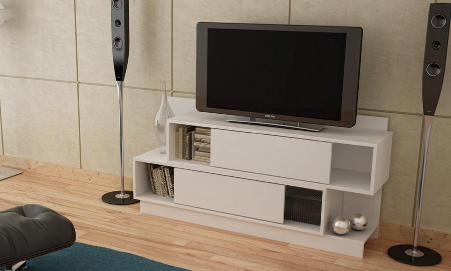 Mueble para tv pantalla equipo de sonido modelo br 430 for Modelos de muebles para tv