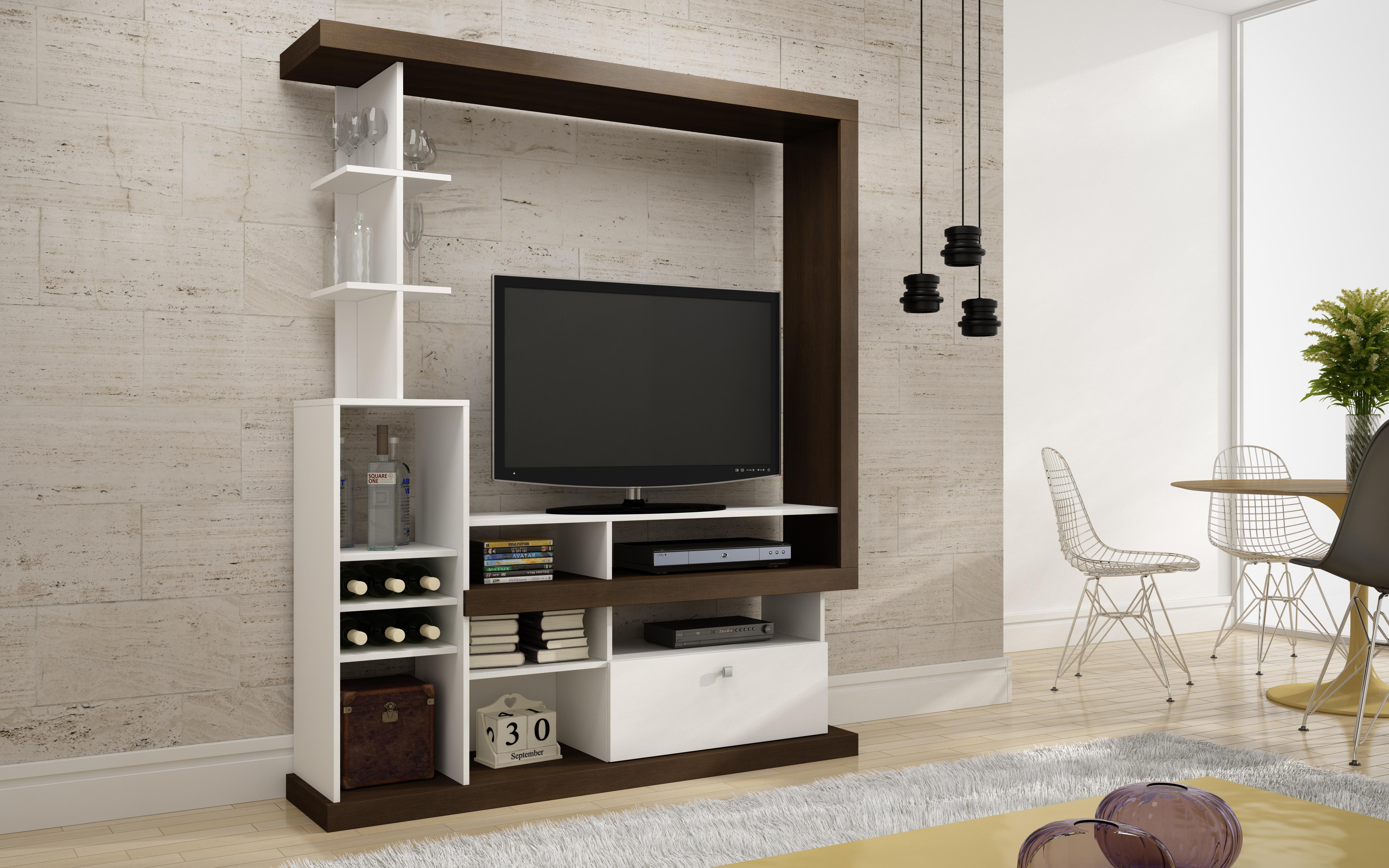 Muebles de entretenimiento de melamine 20170716162508 for Mueble tv dormitorio