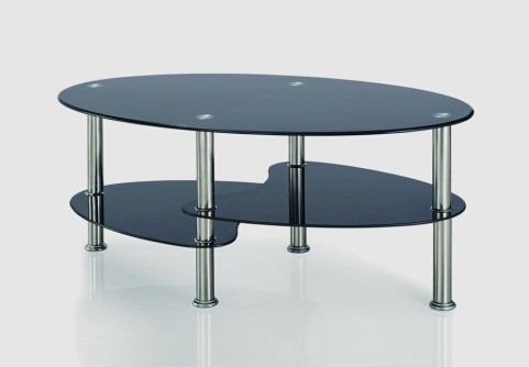 Mesa de vidrio para sala modelo lct022b labnash for Modelos de mesas de vidrio