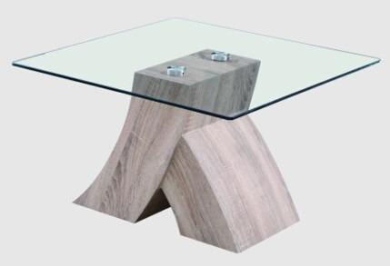 Mesa de vidrio para sala modelo lct 201 labnash for Modelos de mesas de vidrio