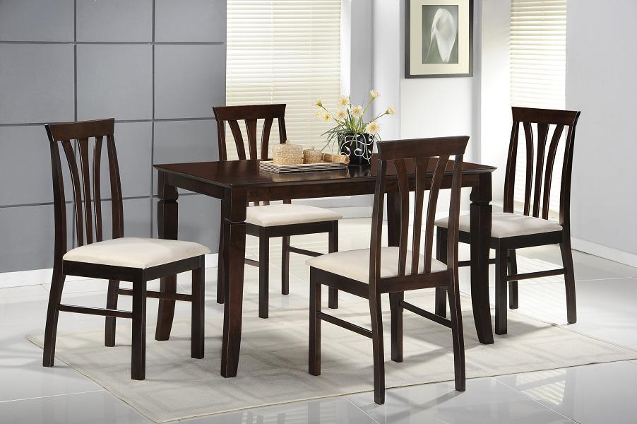 Juego de comedor de madera smart con 4 sillas labnash for Juego de comedor 4 sillas