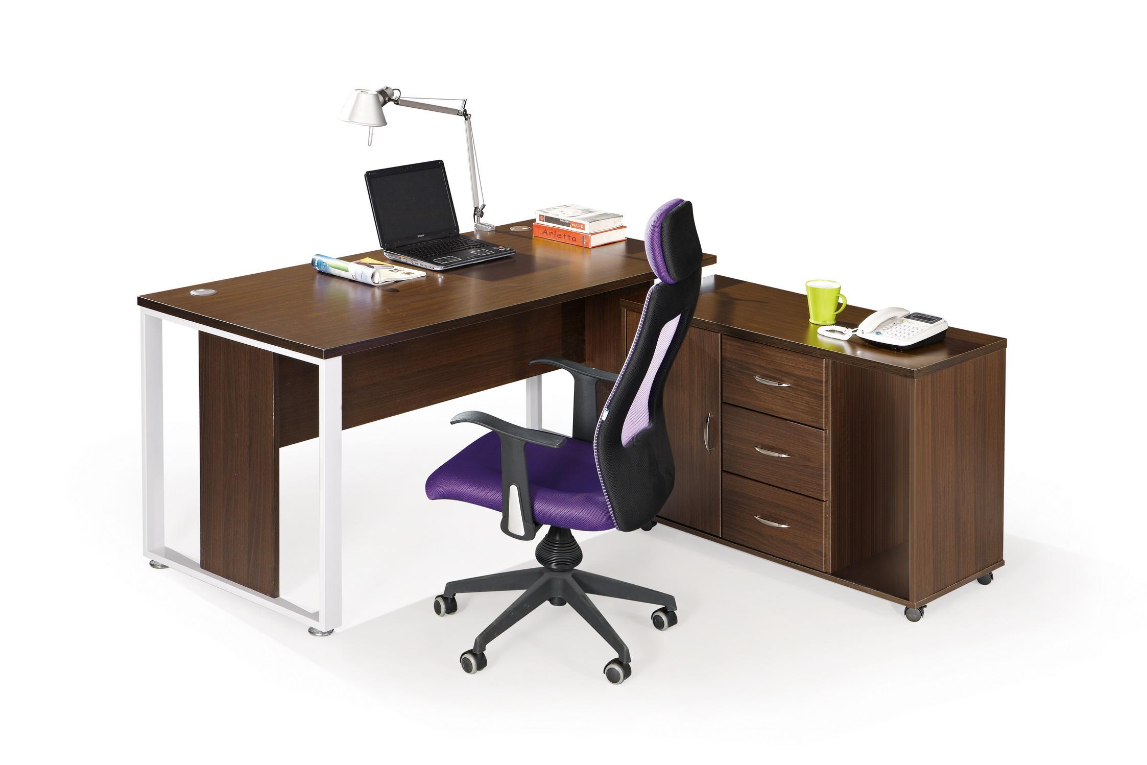 Escritorio en l para su oficina u hogar modelo bg 68 1600 for Escritorio de oficina precio