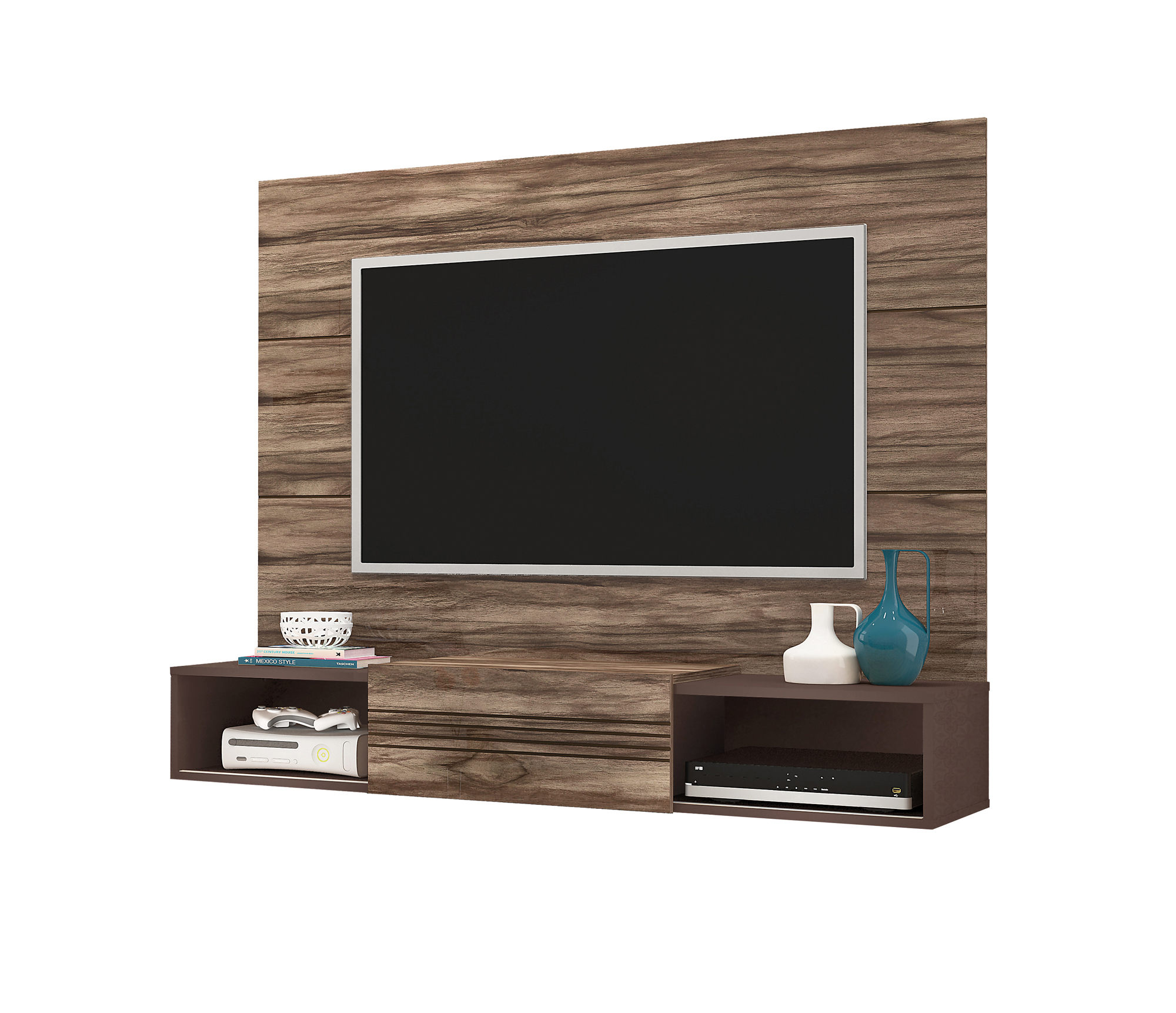 muebles para tv led en la pared