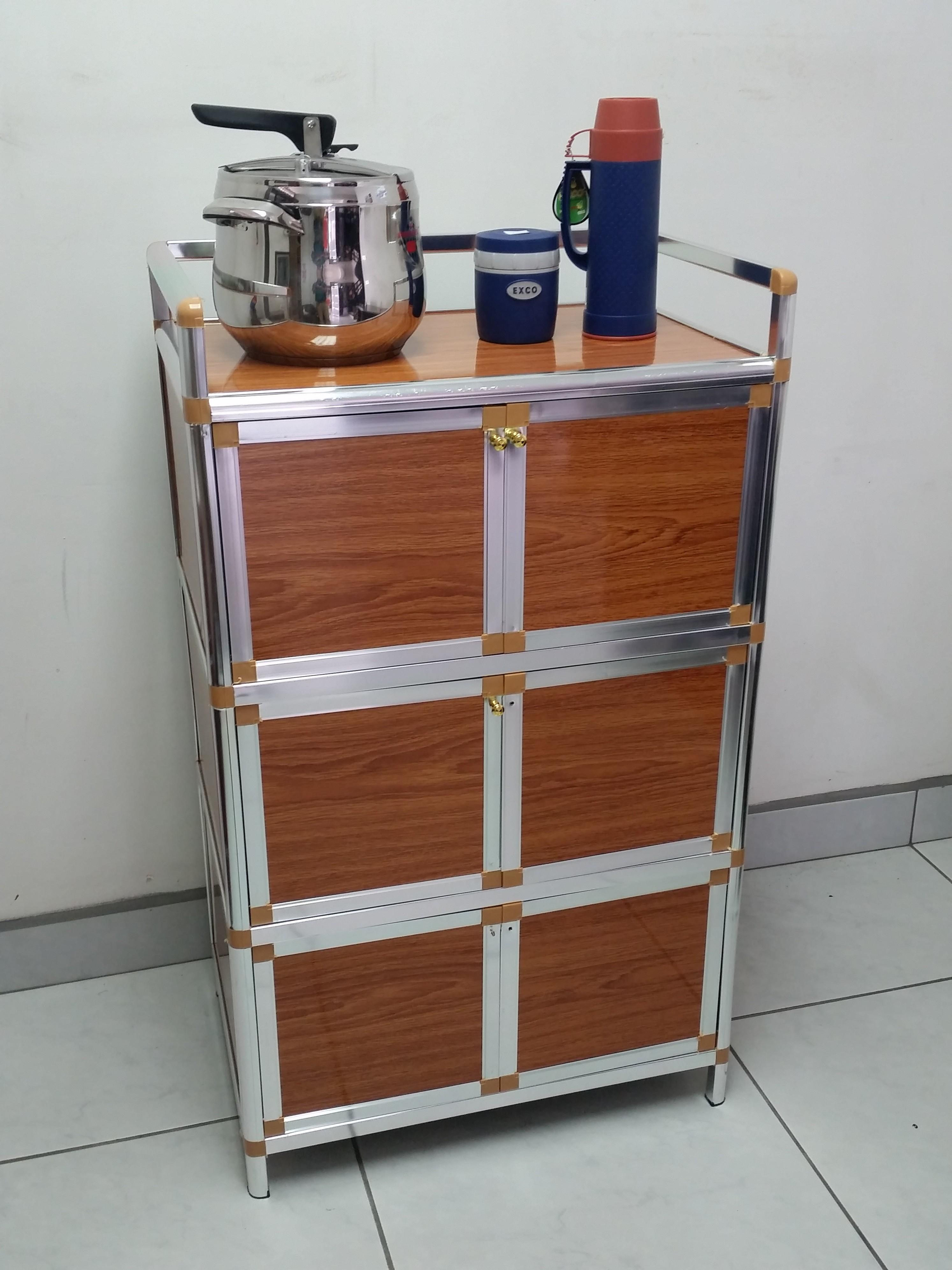 Mueble organizador vertical multiuso con 6 puertas labnash for Mueble organizador