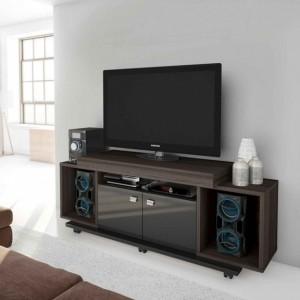 Mueble para tv pantalla equipo de sonido cedro labnash for Muebles para sala de tv